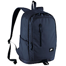 Buy Nike All Access Soleday Backpack, Black/Obsidian Online at johnlewis.com