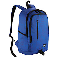 Buy Nike All Access Soleday Backpack, Game Royal/Black Online at johnlewis.com