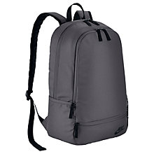 Buy Nike Classic North Solid Backpack, Grey/Black Online at johnlewis.com