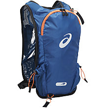 Buy Asics Fujitrail Speed Running Backpack, Blue Online at johnlewis.com