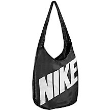 Buy Nike Graphic Reversible Tote Bag, Black/White Online at johnlewis.com