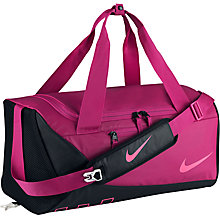 Buy Nike Children's Alpha Adapt Crossbody Training Duffle Bag, Pink/Black Online at johnlewis.com