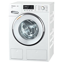 Buy Miele WMG 120 Freestanding Washing Machine, 8kg Load, A+++ Energy Rating, 1600rpm Spin, White Online at johnlewis.com