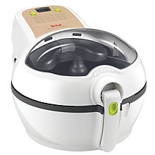 Buy Tefal Actifry Plus with Snacking Rack Low Fat Fryer, White Online at johnlewis.com