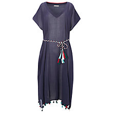 Buy White Stuff Midi Kimono Cover Up, Navy Online at johnlewis.com