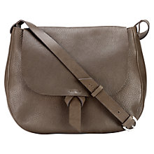 Buy Jigsaw Maud Shoulder Bag, Smoke Online at johnlewis.com