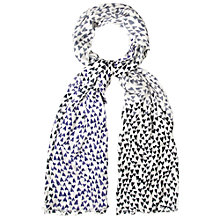 Buy White Stuff Young At Heart Scarf, Blue Multi Online at johnlewis.com