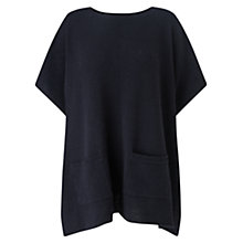 Buy Jigsaw Ribbed Pocket Detail Poncho Online at johnlewis.com