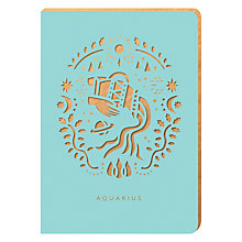 Buy Portico Zodiac Collection A6 Notebook, Aquarius Online at johnlewis.com