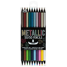 Buy NPW 50/50 Metallic Pencils Online at johnlewis.com