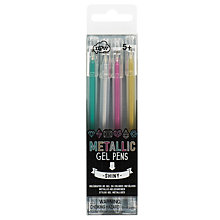 Buy NPW Metallic Gel Pens, Pack of 4 Online at johnlewis.com