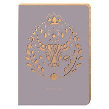 Buy Portico Zodiac Collection A6 Notebook, Taurus Online at johnlewis.com