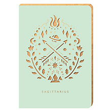 Buy Portico Zodiac Collection A6 Notebook, Sagittarius Online at johnlewis.com