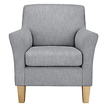 Buy John Lewis Corey Armchair, Light Legs, Amelia French Grey Online at johnlewis.com