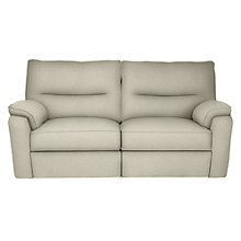 Buy John Lewis Carlisle 2.5 Seater Powered Recliner Sofa, Evora Putty Online at johnlewis.com
