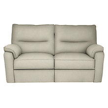 Buy John Lewis Carlisle 2 Seater Manual Recliner Sofa, Evora Putty Online at johnlewis.com