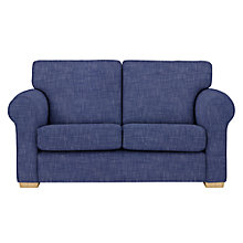 Buy John Lewis Milford Small 2 Seater Sofa, Light Leg, Solva Blueprint Online at johnlewis.com