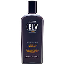 Buy American Crew Classic Grey Shampoo, 250ml Online at johnlewis.com