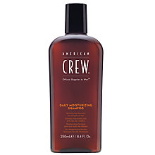 Buy American Crew Daily Moisturising Shampoo, 250ml Online at johnlewis.com