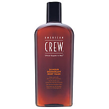 Buy American Crew 24-Hour Deodorant Body Wash, 450ml Online at johnlewis.com