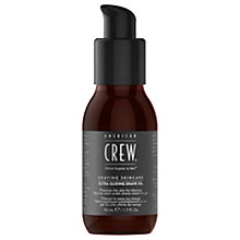 Buy American Crew Ultra Gliding Shave Oil, 50ml Online at johnlewis.com