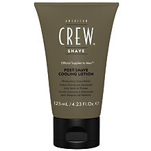 Buy American Crew Post-Shave Cooling Lotion, 125ml Online at johnlewis.com