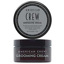 Buy American Crew Grooming Cream, 85g Online at johnlewis.com