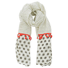 Buy Oasis Geo Tassel Scarf, Multi Online at johnlewis.com