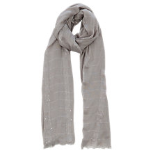 Buy Oasis Plain Sequin Scarf Online at johnlewis.com
