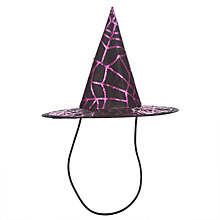 Buy John Lewis Children's Witch Hat, Black Online at johnlewis.com