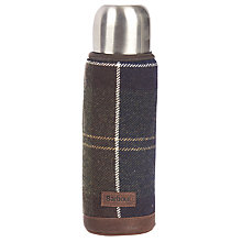 Buy Barbour Tartan Thermos Flask, Classic Online at johnlewis.com