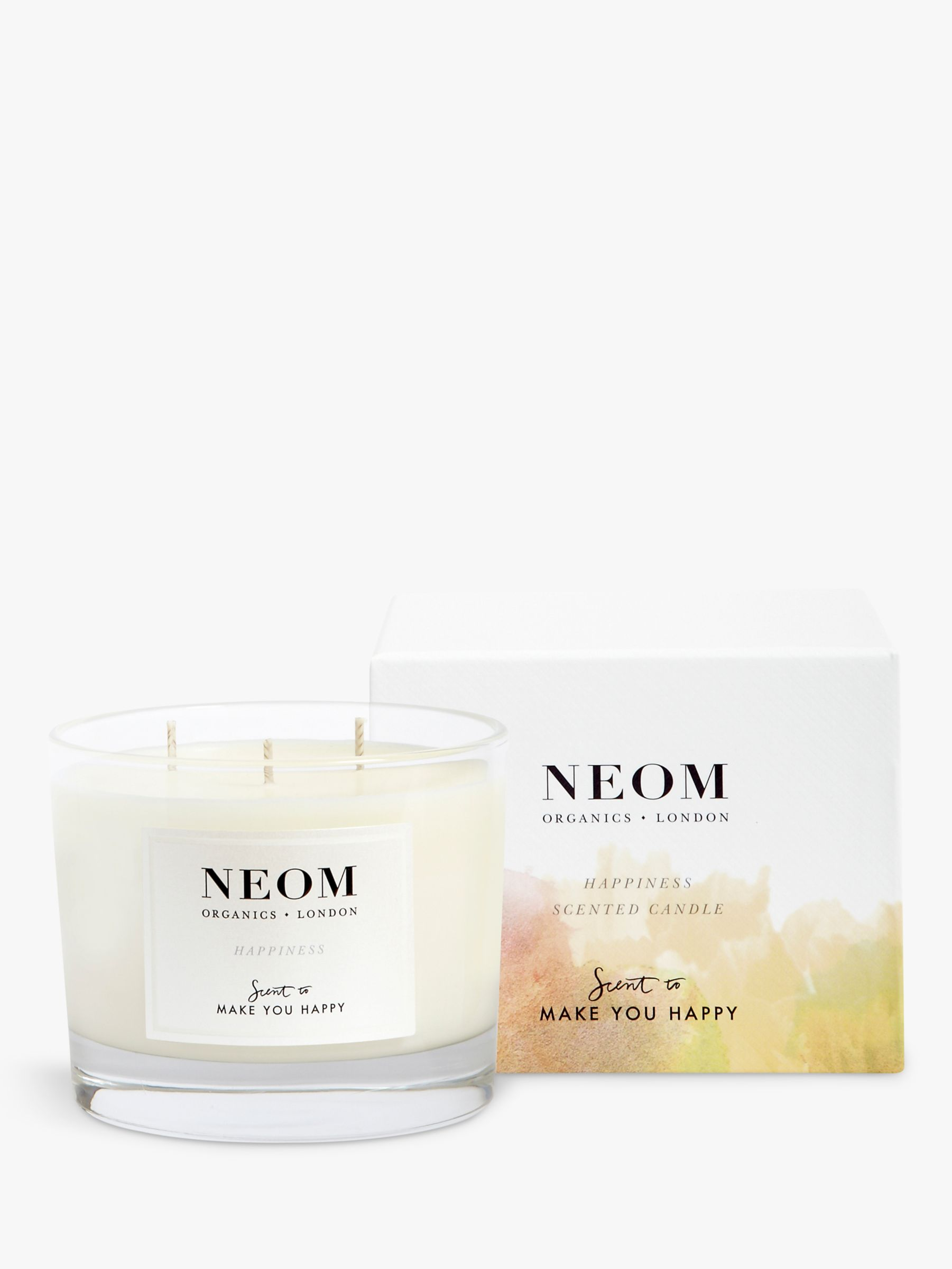 Neom Neom Happiness 3 Wick Candle, 420g