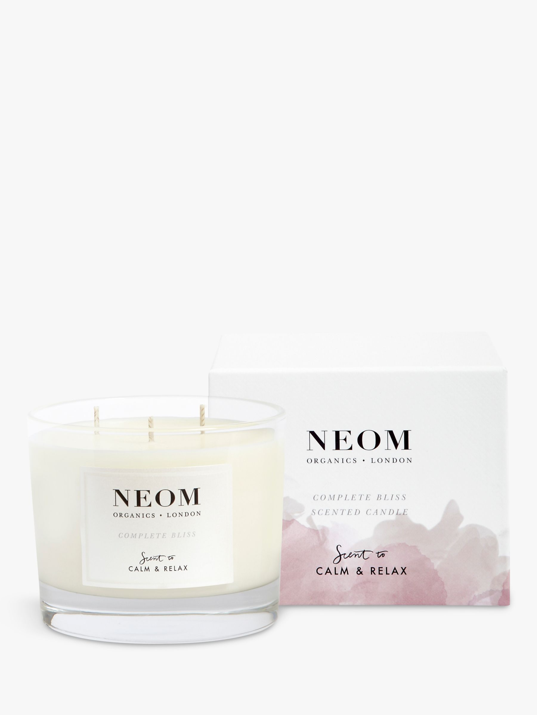 Neom Neom Complete Bliss 3 Wick Candle, 420g