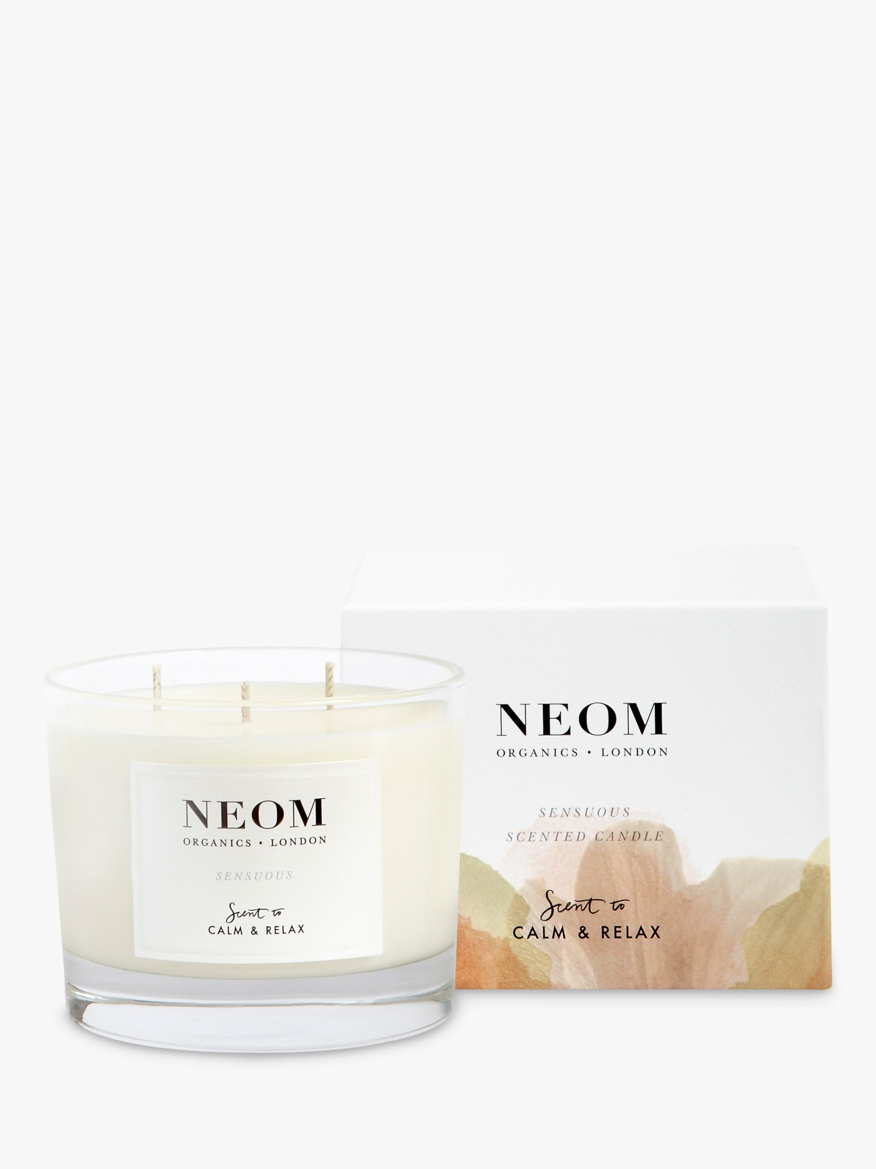 Neom Neom Sensuous 3 Wick Candle, 420g