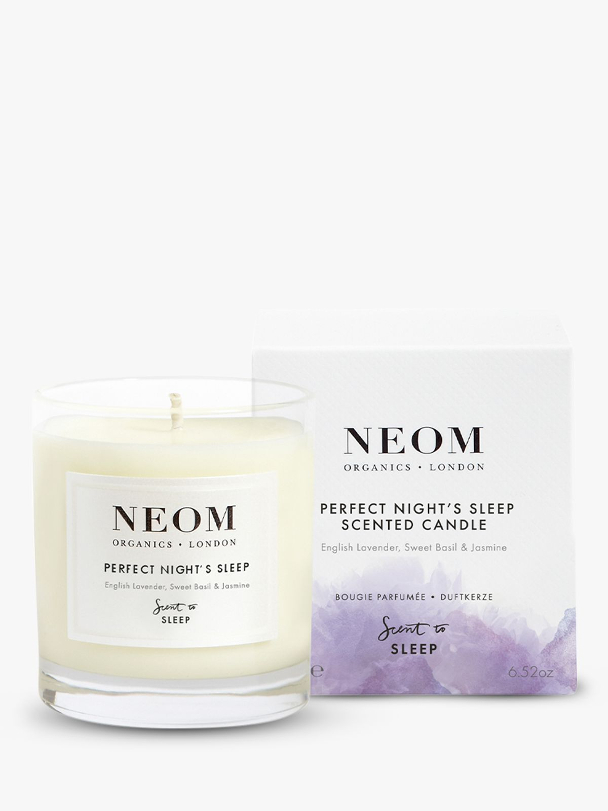 Neom Neom Tranquility Standard Candle, 185g
