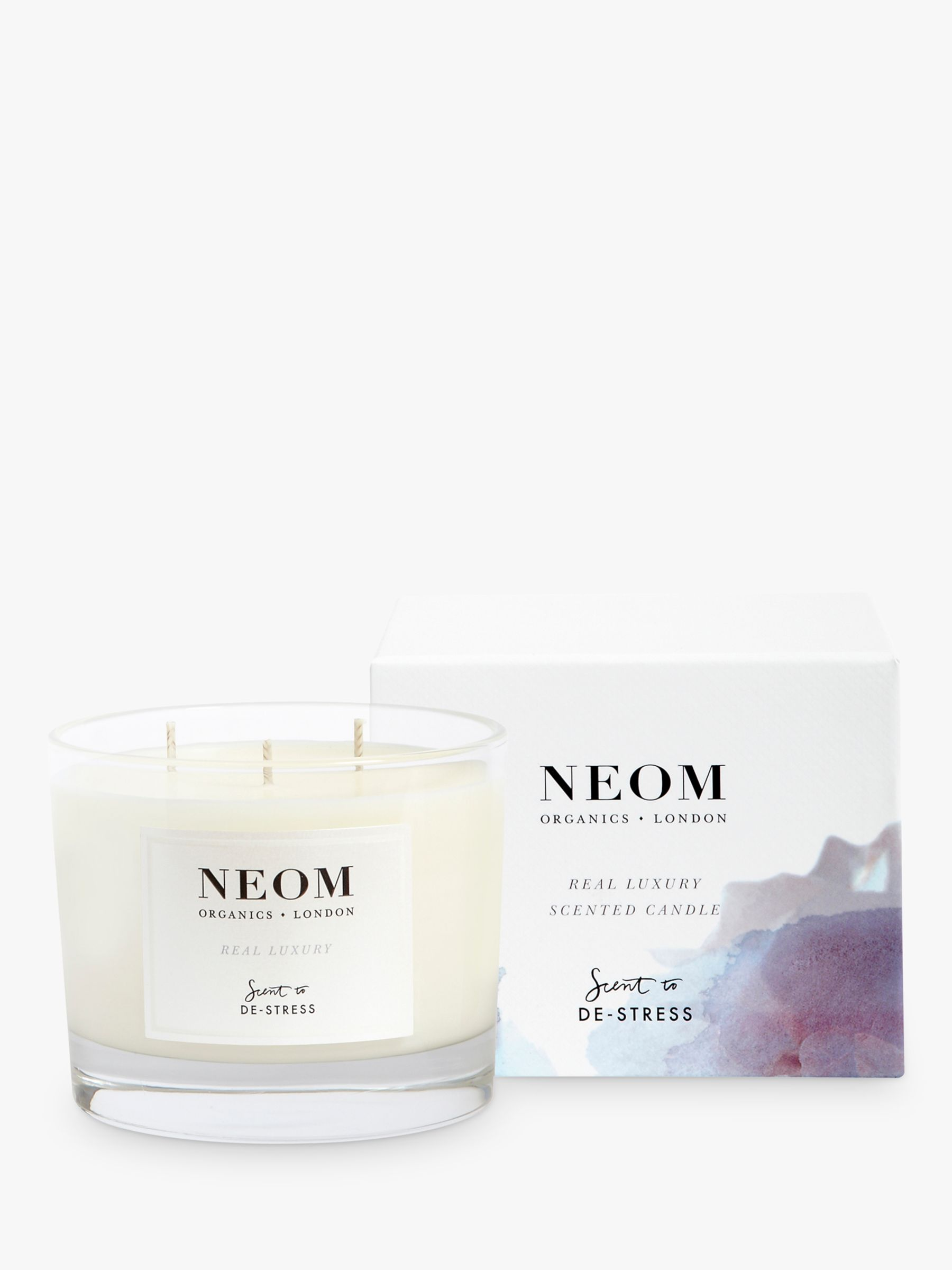 Neom Neom Real Luxury 3 Wick Candle, 420g