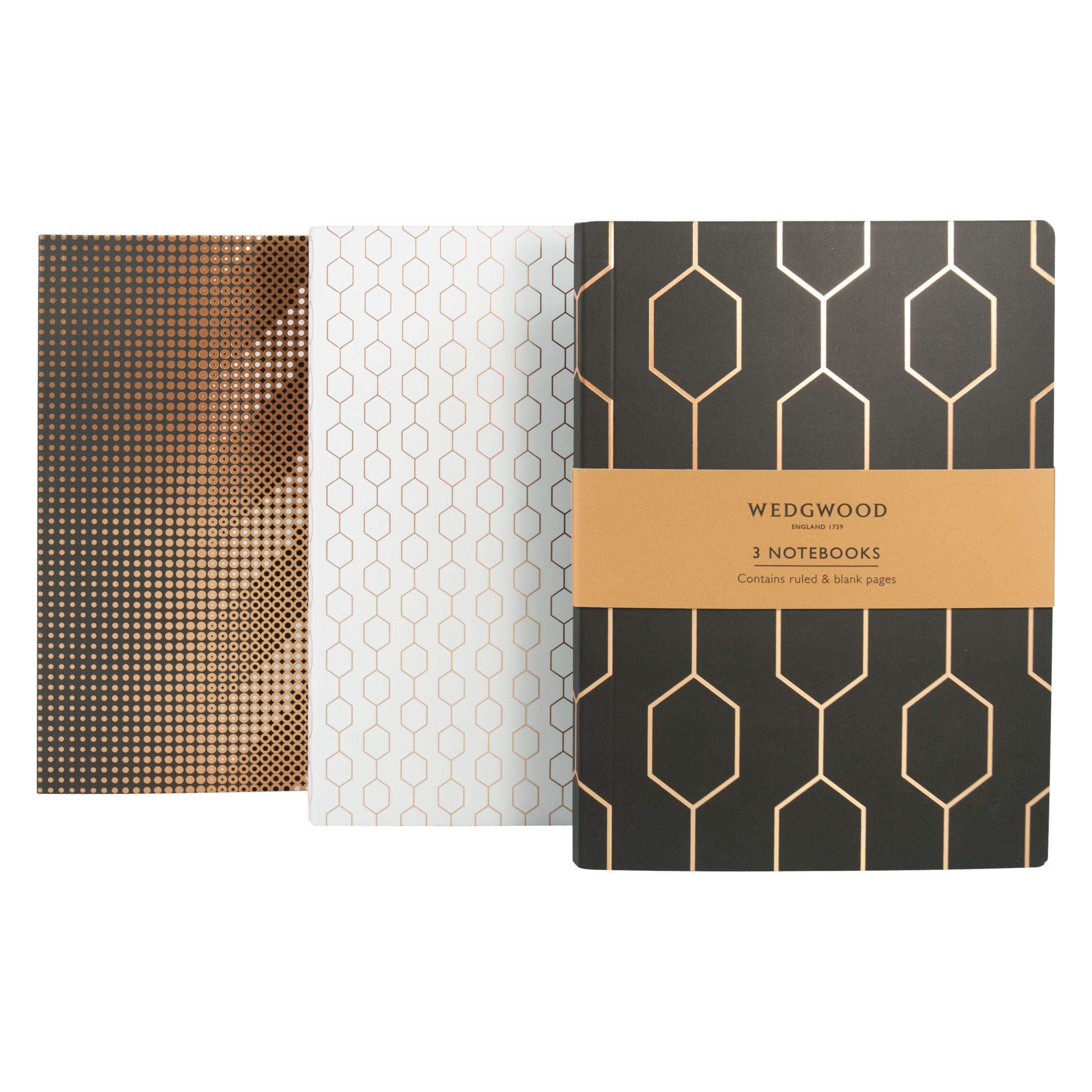 Wedgwood Wedgwood B5 Notebooks, Pack of 3