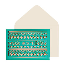 Buy Portico Laser Cut Thank You Notecards, Pack of 10 Online at johnlewis.com