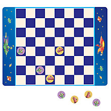 Buy Eeboo Robot Checkers Magnetic Game Online at johnlewis.com