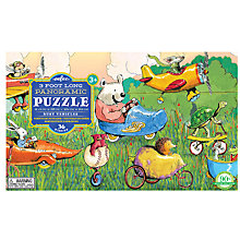 Buy Eeboo 3 Foot Long Panoramic Puzzle Busy Vehicles Online at johnlewis.com
