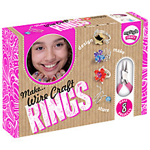 Buy myStyle Craft Wire Craft Ring Kit Online at johnlewis.com