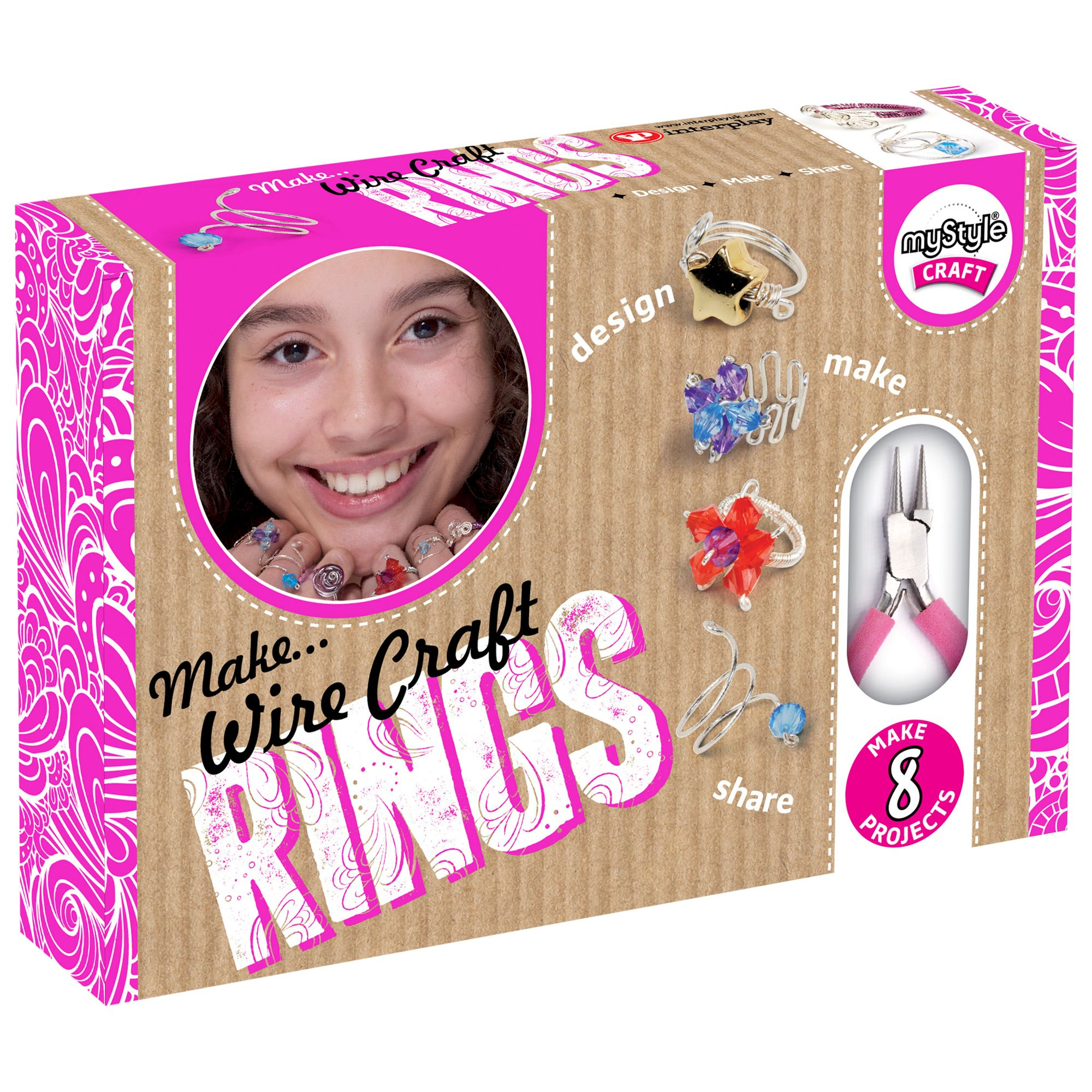 myStyle myStyle Craft Wire Craft Ring Kit
