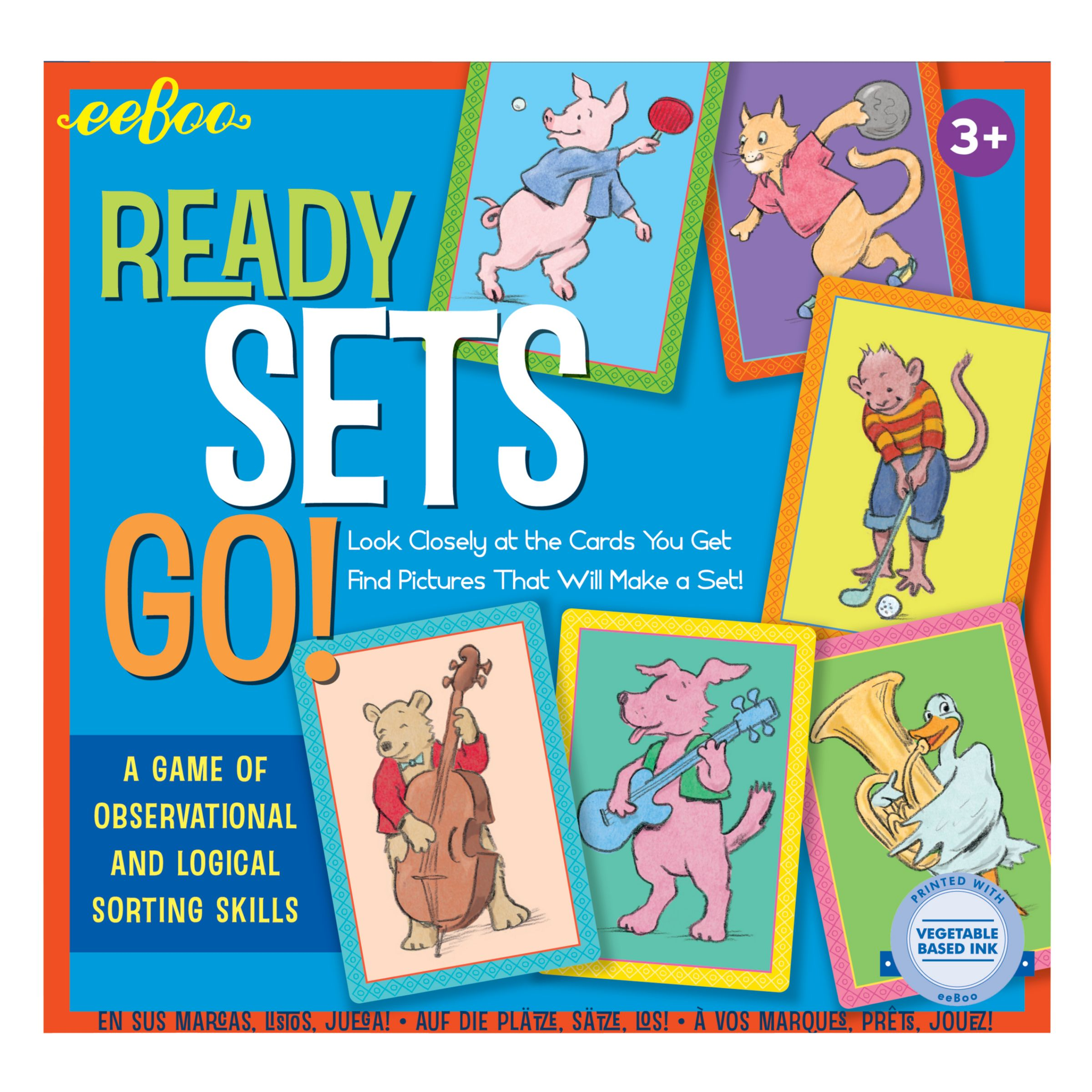 Eeboo Eeboo Ready Sets Go! Game