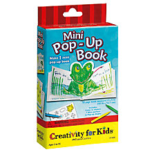 Buy Creativity for Kids Mini Pop-Up Book Online at johnlewis.com