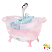 Buy Zapf Baby Born Bathtub With Foam Online at johnlewis.com