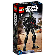 Buy LEGO Star Wars Rogue One 75121 Imperial Death Trooper Online at johnlewis.com