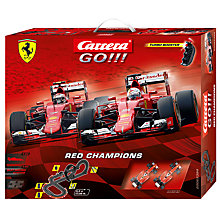 Buy Carrera Go!!! Red Cars Racing Set Online at johnlewis.com