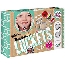 Buy myStyle Craft Keepsake Lockets Kit Online at johnlewis.com