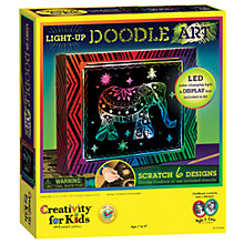 Buy Creativity for Kids Light Up Doodle Art Online at johnlewis.com