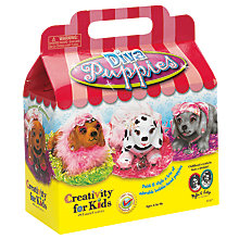 Buy Creativity for Kids Bobble-Head Diva Puppies Online at johnlewis.com